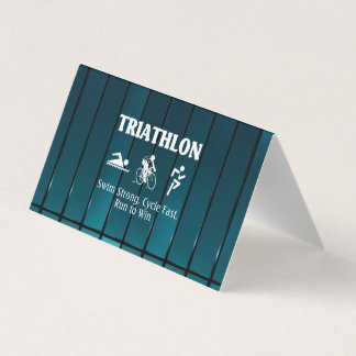 TOP Triathlon Business Card