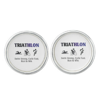 TOP Triathlon Cufflinks