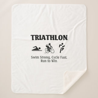 TOP Triathlon Sherpa Blanket