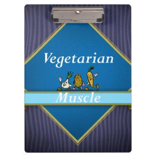 TOP Vegetarian Muscle Clipboard