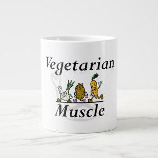 TOP Vegetarian Muscle Large Coffee Mug