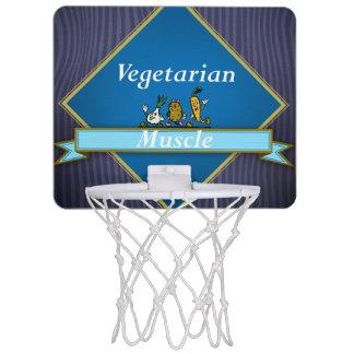 TOP Vegetarian Muscle Mini Basketball Hoop