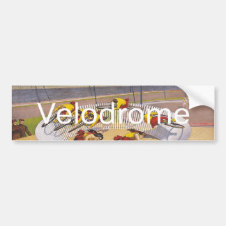 TOP Velodrome Circles Bumper Sticker