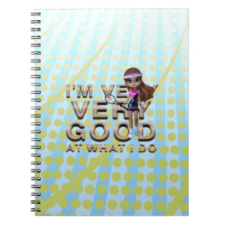 TOP Very Good at What I Do, Tennis Notebook