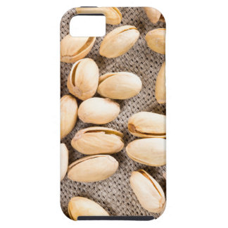Top view of a group of salty pistachios iPhone 5 cases