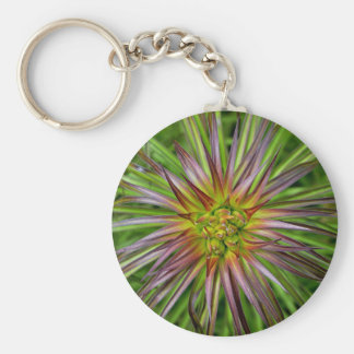 Top View of a Lilium Regale Lily Flower Keychains