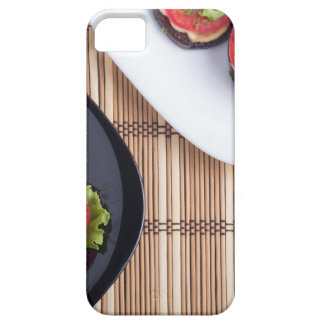 Top view of a vegetable dish iPhone 5 covers