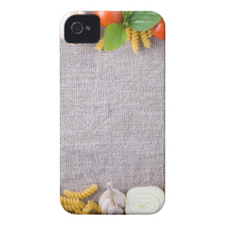 Top view of the ingredients for a meal Case-Mate iPhone 4 case
