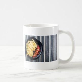 Top view of the Russian national dish Coffee Mug