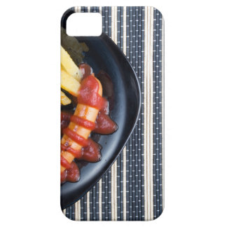 Top view of the Russian national dish iPhone 5 Case