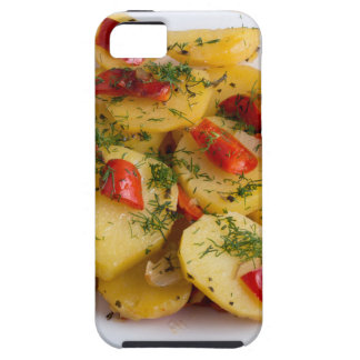 Top view of the vegetarian dish of organic iPhone 5 cases