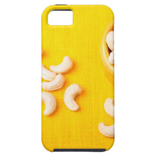 Top view on natural and healthy cashews iPhone 5 cases