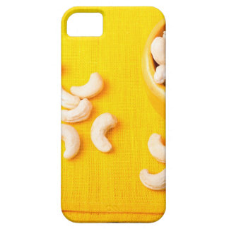 Top view on natural and healthy cashews iPhone 5 cover