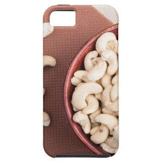 Top view on raw cashew nuts for vegetarian food case for the iPhone 5