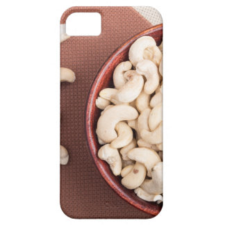 Top view on raw cashew nuts for vegetarian food iPhone 5 cover