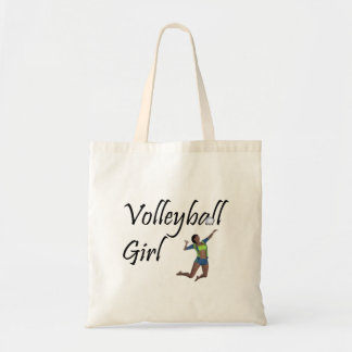 TOP Volleyball Girl Tote Bag