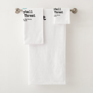 TOP Volleyball Triple Threat Bath Towel Set