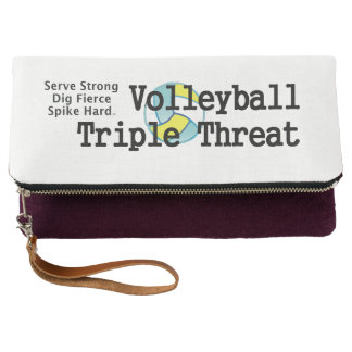 TOP Volleyball Triple Threat Clutch