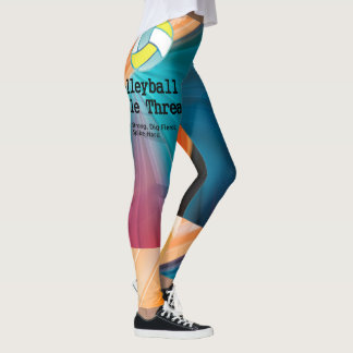 TOP Volleyball Triple Threat Leggings