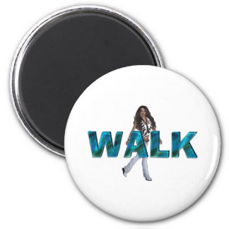 TOP Walk 2 Inch Round Magnet