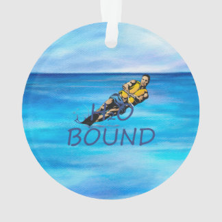 TOP Water Skiing Ornament