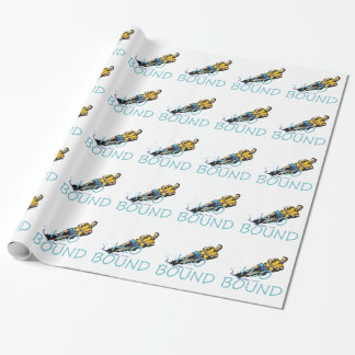 TOP Water Skiing Wrapping Paper