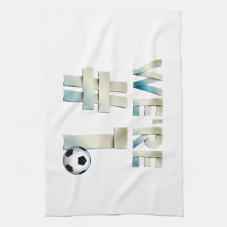 TOP We're #1 Soccer Kitchen Towel