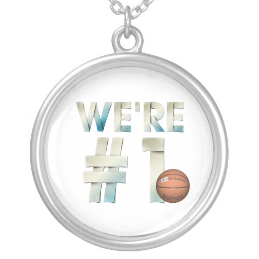 TOP We're Number One Hoops Necklaces