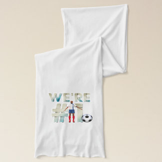 TOP We're Number One Scarf