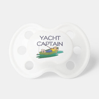 TOP Yacht Captain Baby Pacifiers