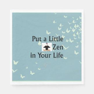 TOP Zen Slogan Paper Napkin