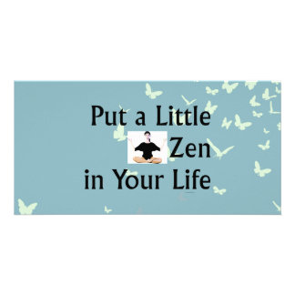 TOP Zen Slogan Photo Card Template
