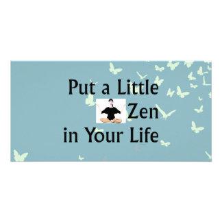 TOP Zen Slogan Photo Card Template