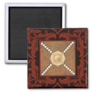 Topaz and Pearl designer magnet