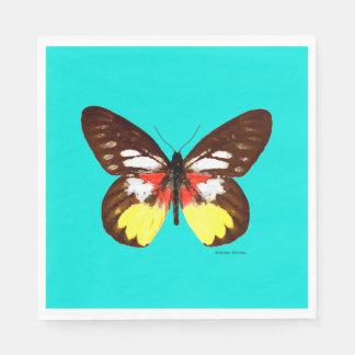 """""""Topaz Butterfly"""" Paper Napkins"""