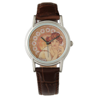 Topaz by Alphonse Mucha Watch