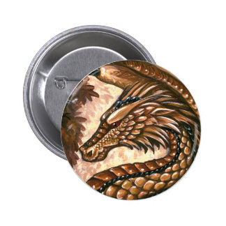 Topaz Dragon Button