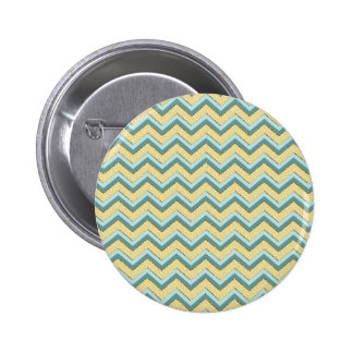 Topaz Glitter Chevron Pattern Pin