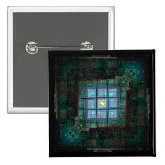 Topazed 2 Inch Square Button