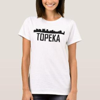 Topeka Kansas City Skyline T-Shirt