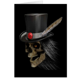tophat skully Card
