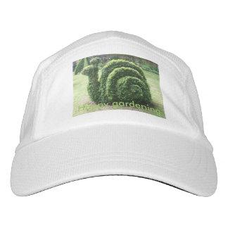 Topiary snail fun happy gardening headsweats hat