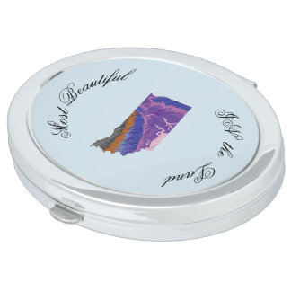 Topographic Beauty Compact Mirrors
