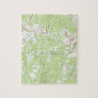 Topographic Map Jigsaw Puzzle