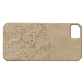 Topographic Map of Colorado 2 iPhone 5 Case