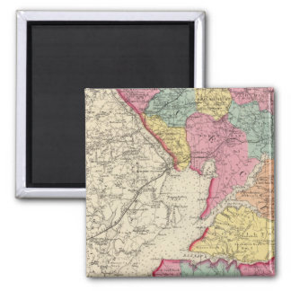Topographical atlas of Maryland counties 2 Magnet