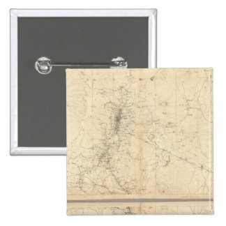 Topographical Map of Washoe Mining Region Pins