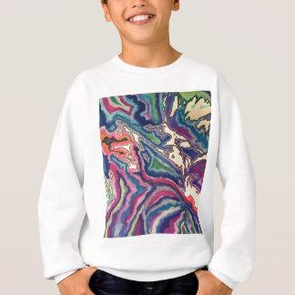 Topographical Tissue Paper Art I Sweatshirt