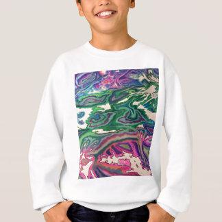 Topographical Tissue Paper Art II Sweatshirt