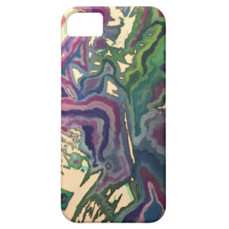 Topographical Tissue Paper Art IV iPhone 5 Case